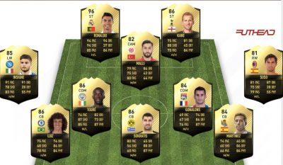 FIFA 17 Ultimate Team Haftanın Takımı – 23 Kasım 2016