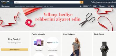 Amazon, Türkiye Açılımını Almanya'dan Yaptı