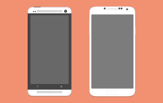 android-phone-_s4-and-htc-one_-psd
