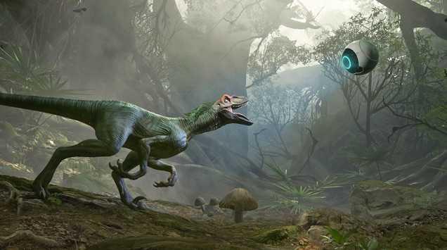 Crytek'in Yeni Sanal Gerçeklik Oyunu Jungle Dino VR Ocak'ta Rift'te