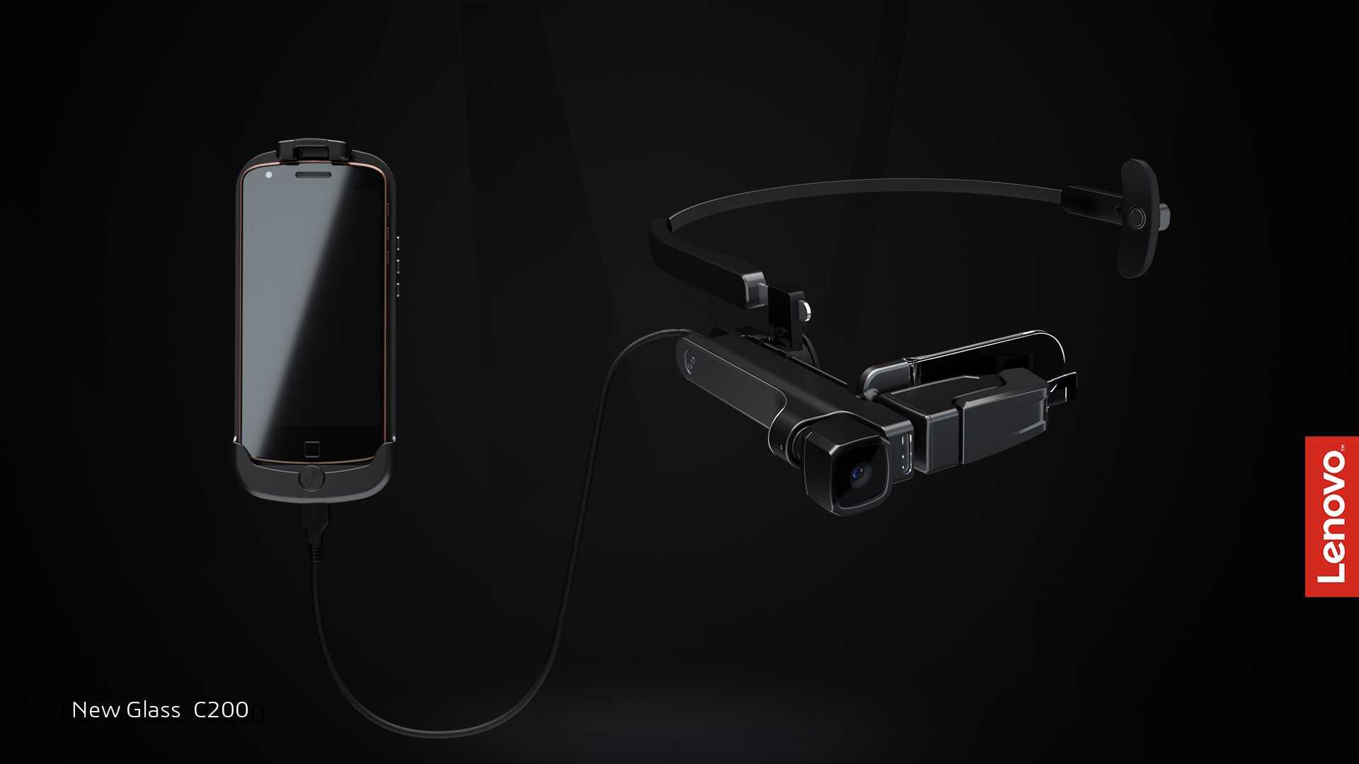 Bu VR Gözlüğü 'Yeni': Lenovo New Glass C200