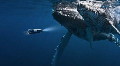 Su Altında Ultra HD Film Kaydı Yapan Drone!