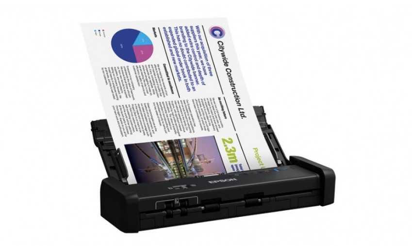 Epson WorkForce ES-200 Tanıtıldı