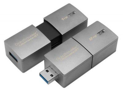 Kingston'dan Rekor: 2TB'lık USB Bellek