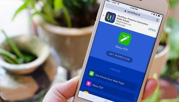 Apple Otomasyon Uygulaması Workflow'u Satın Aldı