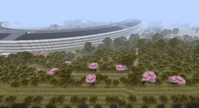 Yeni Apple Merkezi Minecraft'ta!
