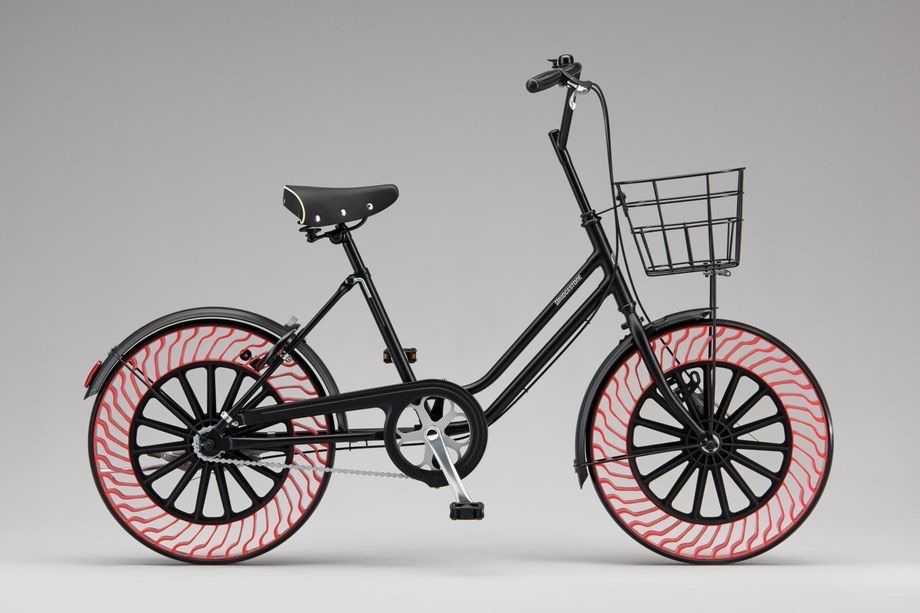 Bu da Yapıldı! İçinde Hava Olmayan Bisiklet Lastiği
