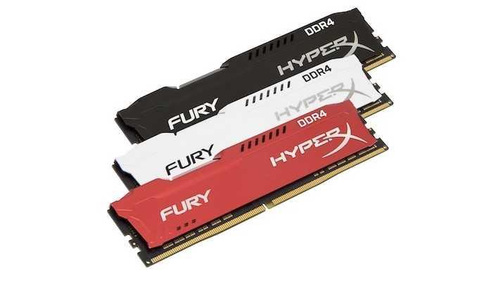 HyperX FURY DDR4 Bellekler Yenilendi