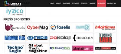 TeknolojiTuru.com Locard Cyber Security Summit Sponsoru Oldu