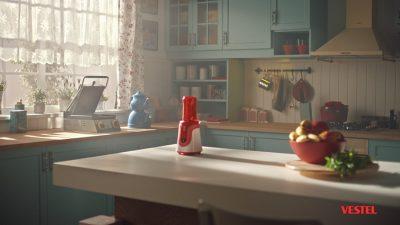 Vestel'den Yeni Reklam Kampanyası: Küçük Ev Aletlerinden Büyük Gıybet