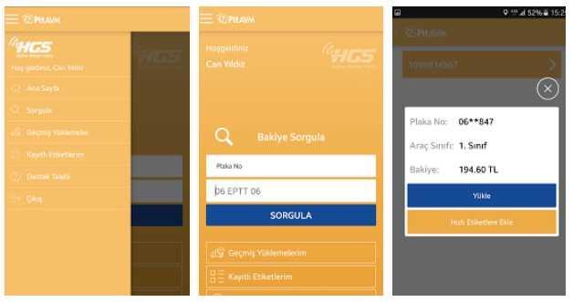 Köprülerden Geçenlere Müjde! HGS Mobil Uygulaması