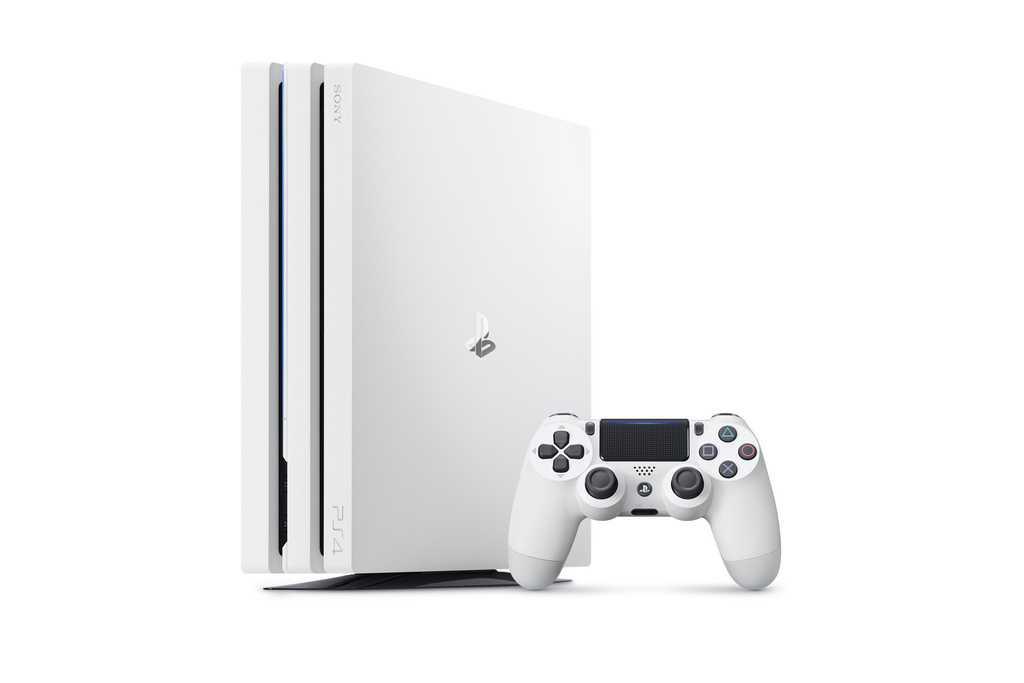 Buzul Beyazı PS4 Pro Duyuruldu