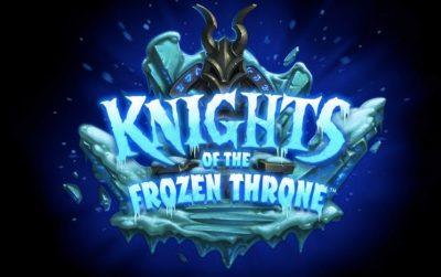 Hearthstone'un Yeni Genişlemesi Knights of the Frozen Throne Geliyor
