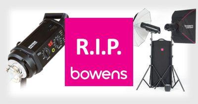 Profesyonel Fotoğraf Ekipmanları Markası Bowens Kepenk İndiriyor [Güncellendi]