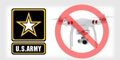 ABD Ordusu DJI'ın Drone'larını Kullanmayı Bırakıyor