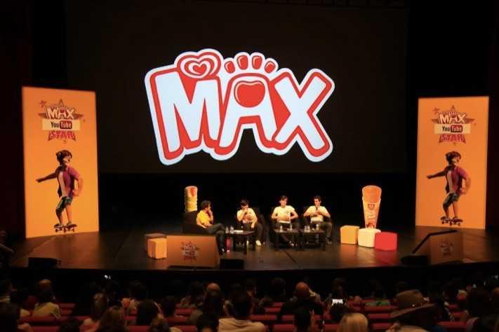 Max'ın YouTube Star'ları Ödüllerini Aldı