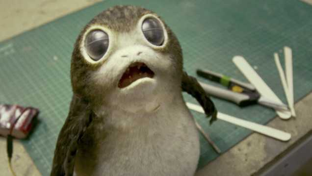 Geek: Porg, Last Jedi'de Böyle Göründü!