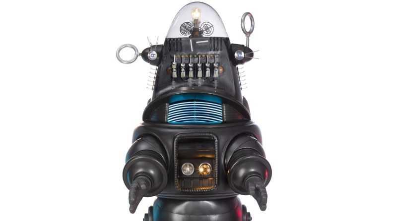 Ünlü Robot Robby the Robot Açık Artırmayla 5 Milyon 375 Bin Dolara Satıldı