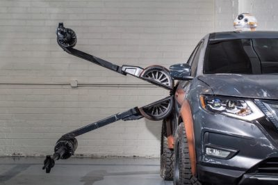 Nissan 'Tamamen Çılgınca' Star Wars Konsept Araçlarını Tanıttı