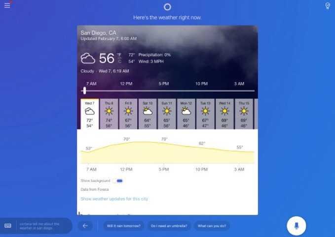 Cortana iPad Versiyonu Yayınlandı