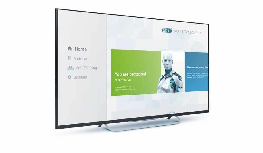 ESET'ten Bir İlk: Akıllı TV için Antivirüs: ESET Smart TV Security