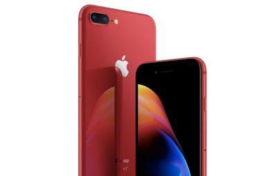 Kırmızı iPhone 8 Duyuruldu! İşte Özellikleri…