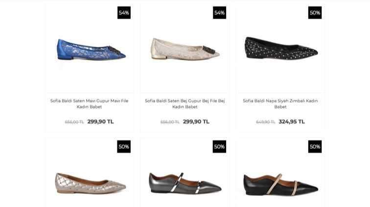 Babet Ayakkabı Modelleri Zengin Renk Seçenekleri İle Satışta