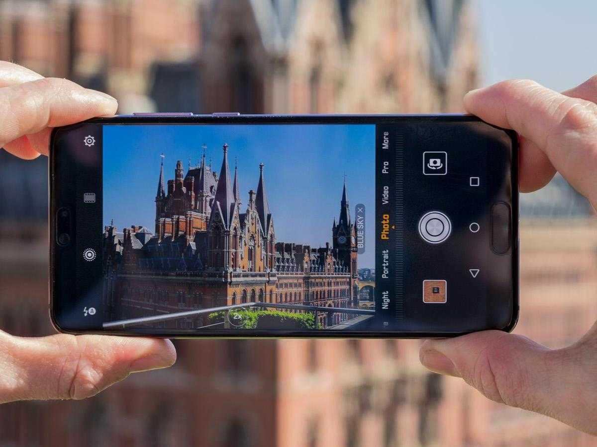 2019'da en iyi kameraya sahip cep telefonları