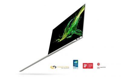 Yeni Acer Swift 7, 1cm'den İnce, 1 kg'dan Hafif