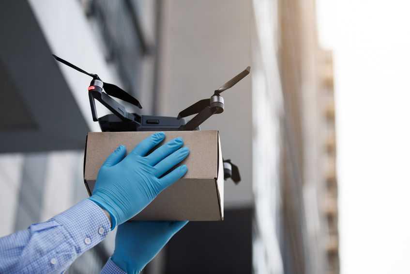 DJI drone'lar iyilik için havalanıyor