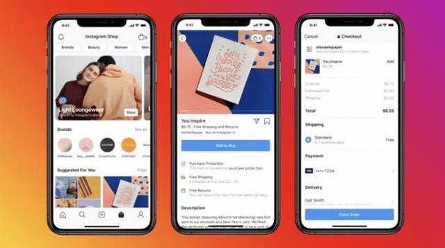 Facebook Shops ile vitrin oluşturup ürün satılabilecek