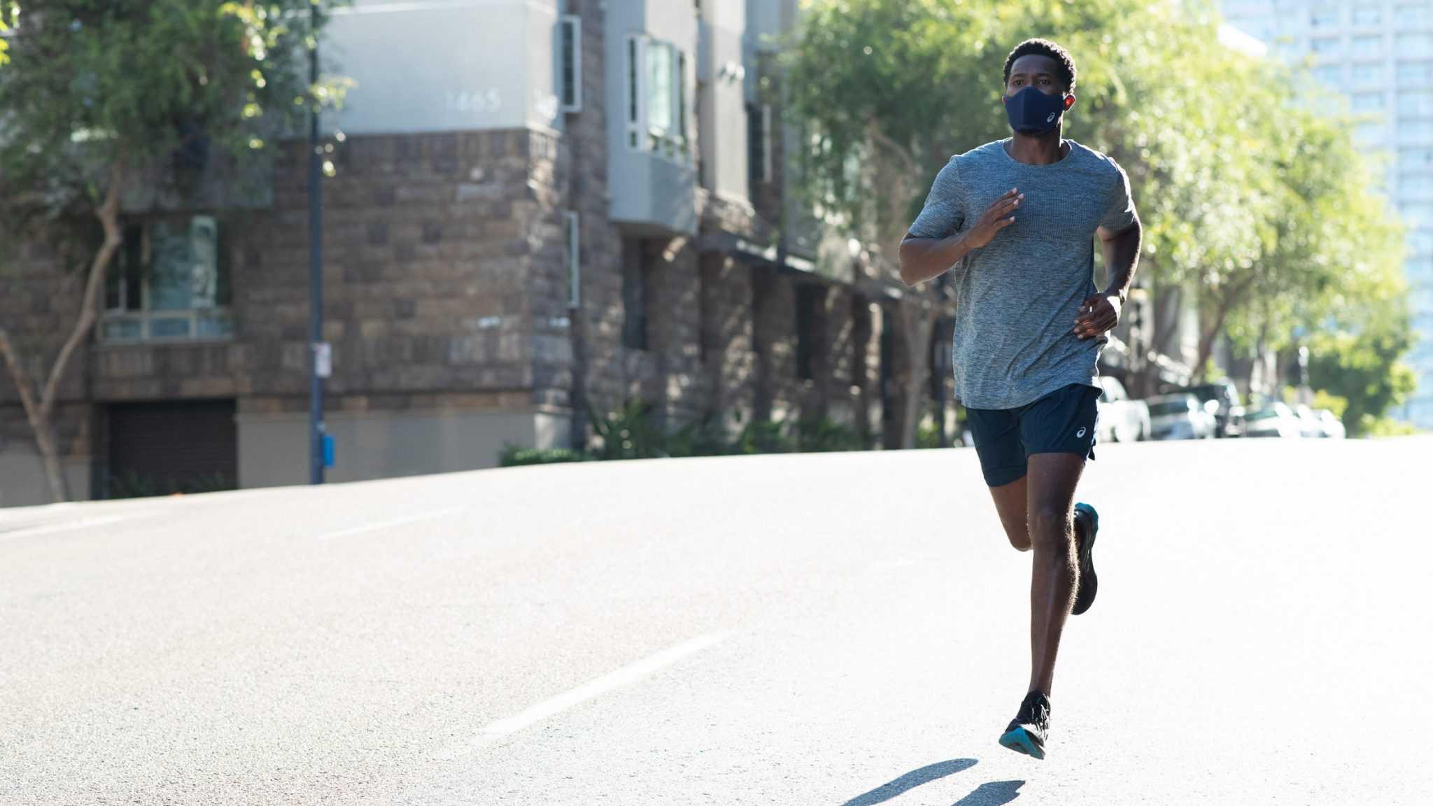 ASICS, pandemi sürecinde egzersiz yapmak için yüz maskesi geliştirdi