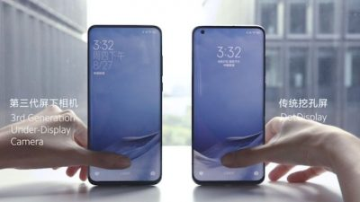 Xiaomi Üçüncü Nesil Ekran Altı Teknolojisini Tanıttı