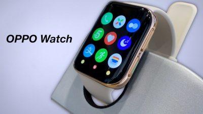 Kavisli Ekrana Sahip İlk Akıllı Saat Oppo Watch Türkiye'de Satışta