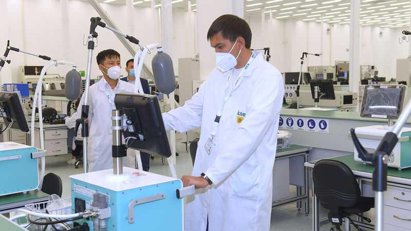 Kazakistan'da Üretilecek Yerli Solunum Cihazı İçin Sözleşme İmzalandı