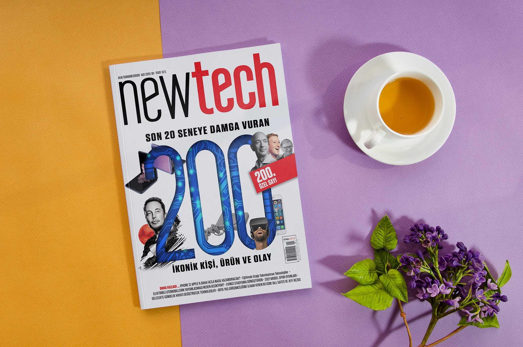 Newtech'ten Arşiv Niteliğinde 200'üncü Sayı