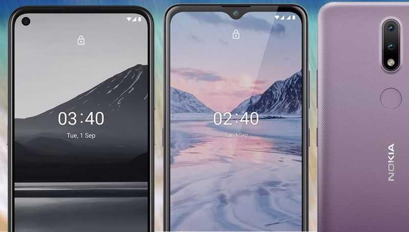 Nokia 2.4 ve Nokia 3.4 Sonunda Tanıtıldı