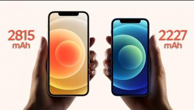 iPhone 12 ve 12 Mini'nin Hayal Kırıklığı Yaratan Batarya Kapasitesi