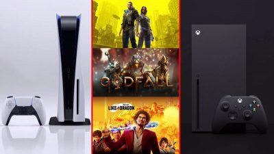 Xbox Series X ve PlayStation 5 Çıkış Oyunları Belli Oldu