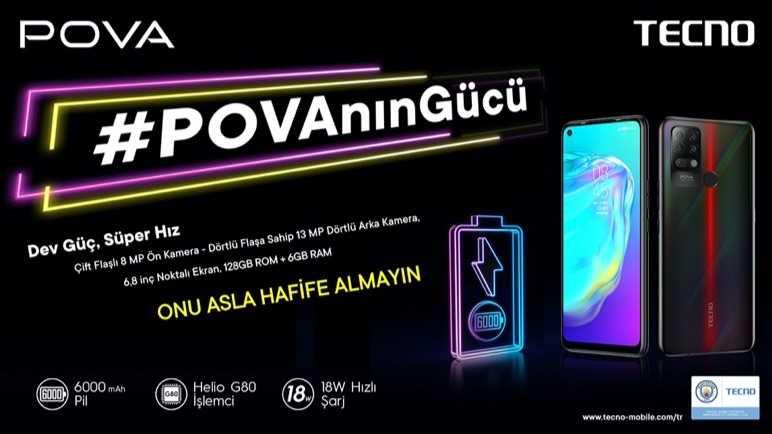 TECNOMOBILE CAMON 16 Premier, POVA ve SPARK 6'yı Türkiye'de satışa sundu