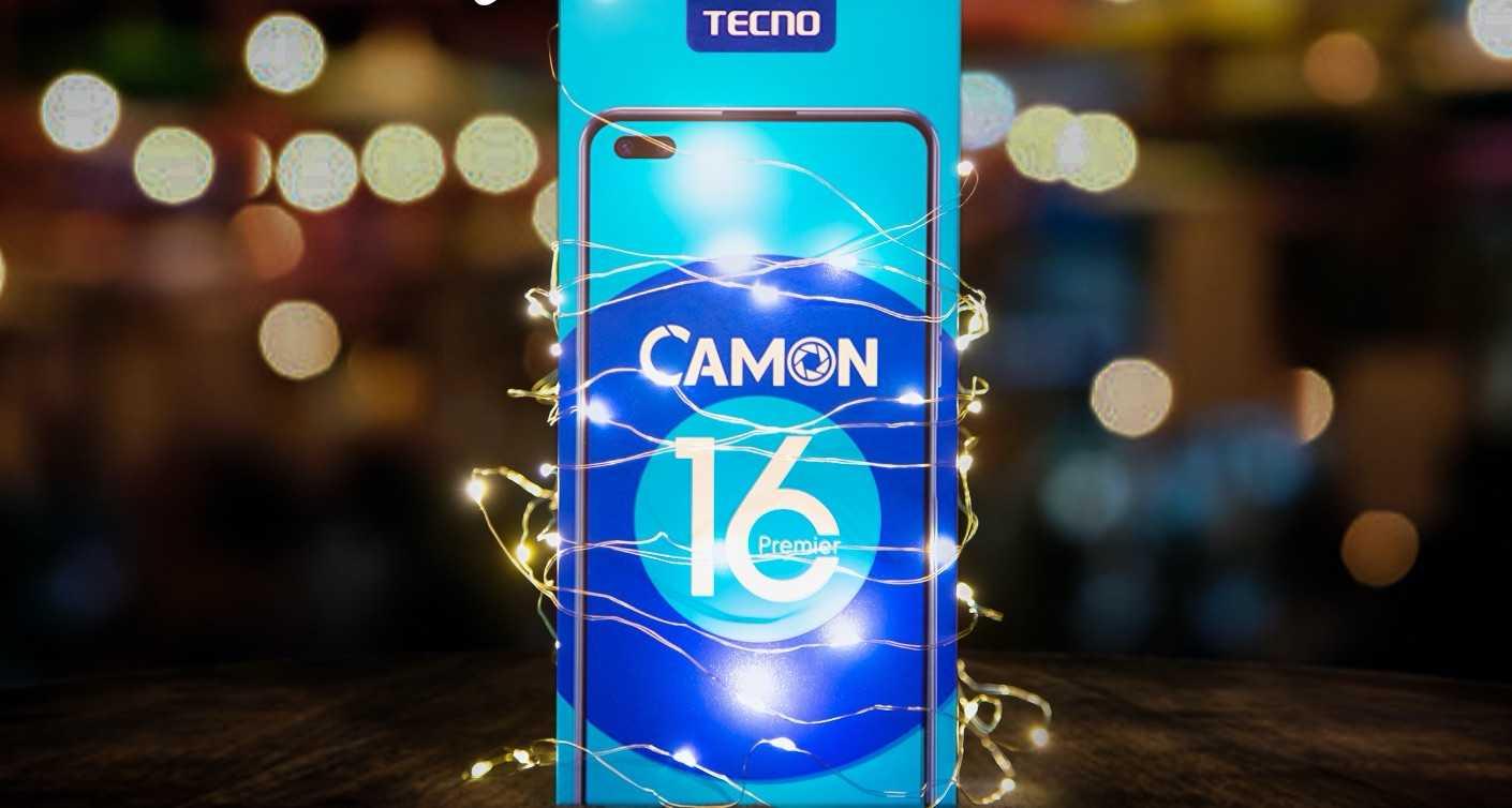 Yeni yılda en doğru hediye TECNO CAMON 16 Premier!