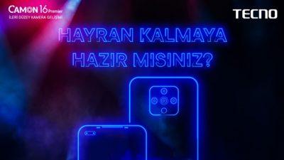 Tecno Mobile, 3 yeni nesil modelle Türkiye'ye geliyor