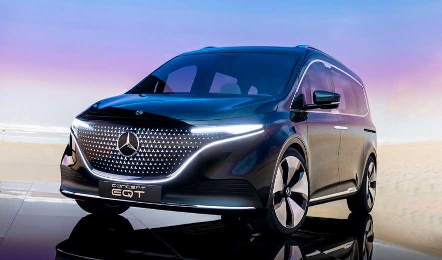 'Yok artık' Dedirten Ticari Araç: Mercedes Concept EQT