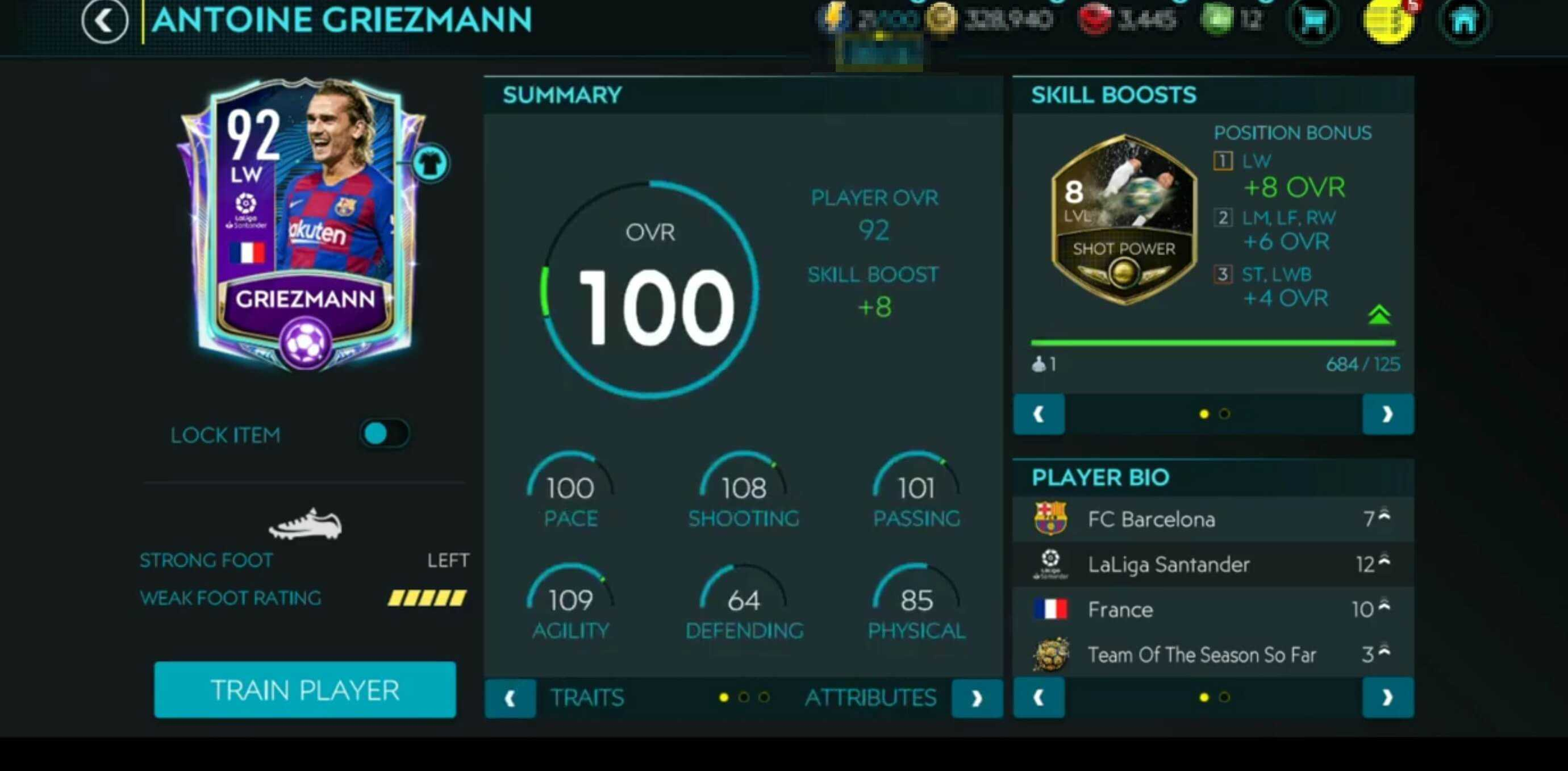 FIFA 22'de En Golcü Özelliklere Sahip Futbolcu Antoine Griezmann Olabilir!